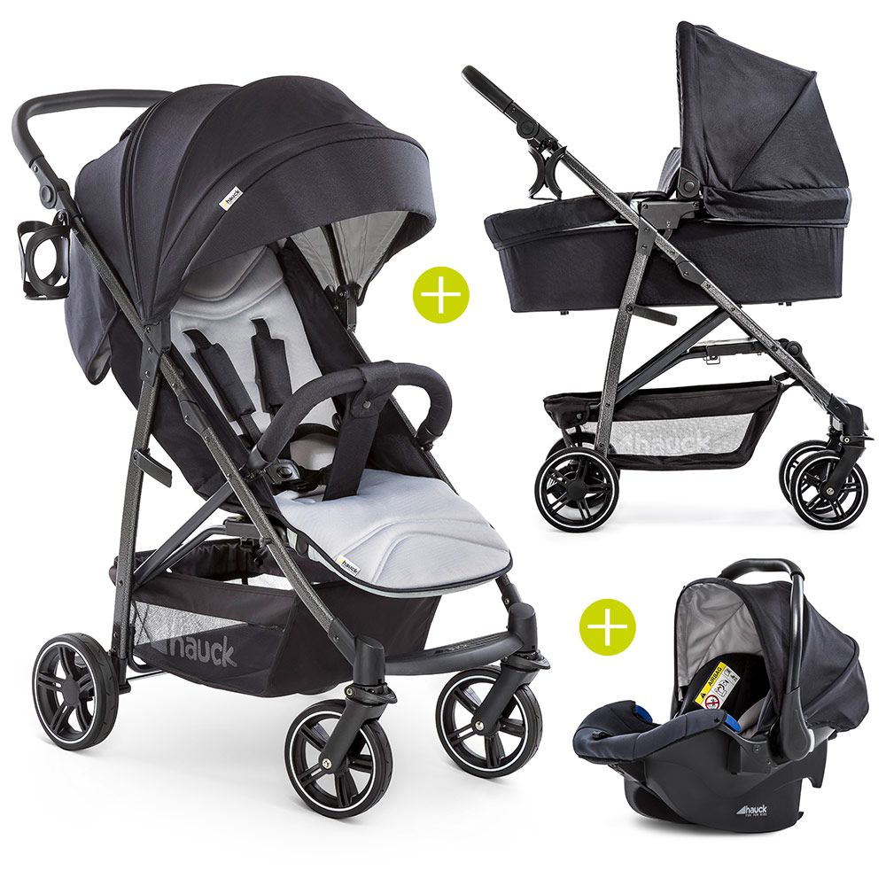 3in1-Kinderwagen-Set