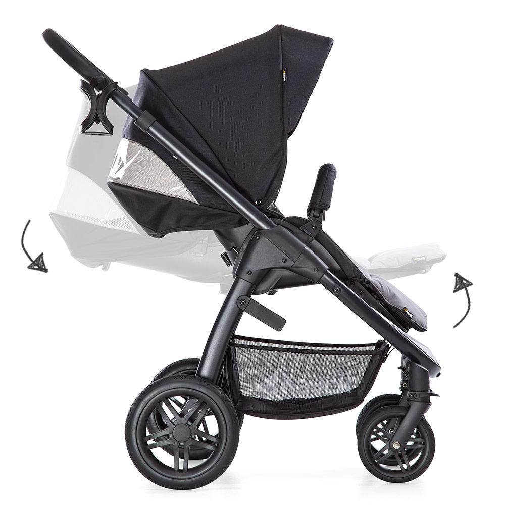 Welcher Kinderwagen? Buggy mit verstellbarer Rückenlehne und Fußstütze
