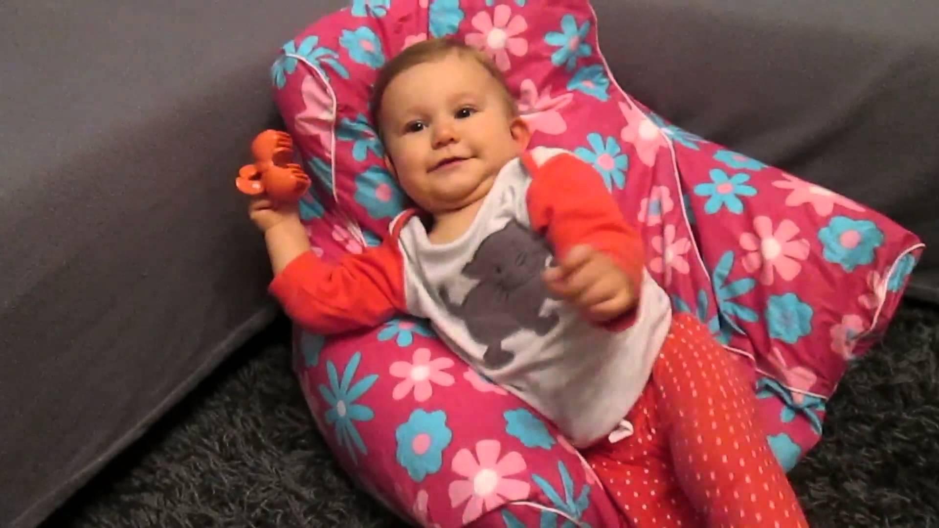 test mini sitzsack von knorr baby magazin. Black Bedroom Furniture Sets. Home Design Ideas