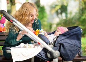 Checkliste Erstausstattung Kinderwagen