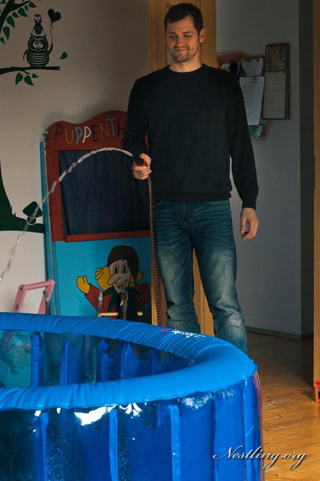 Hausgeburt Pool