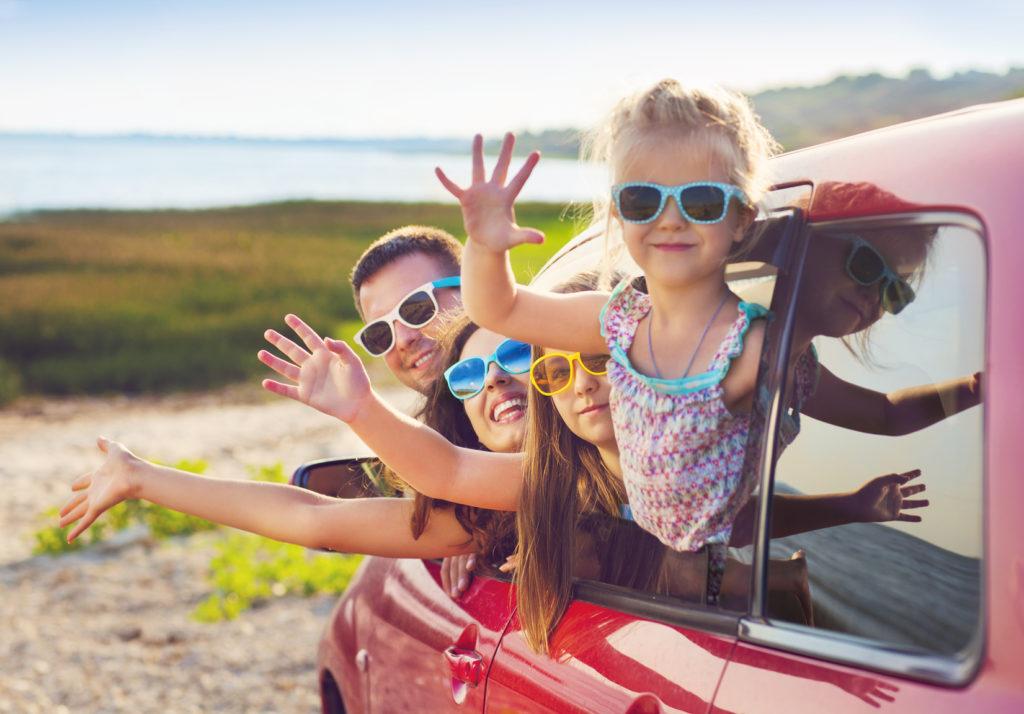 mit Kinder im Auto verreisen