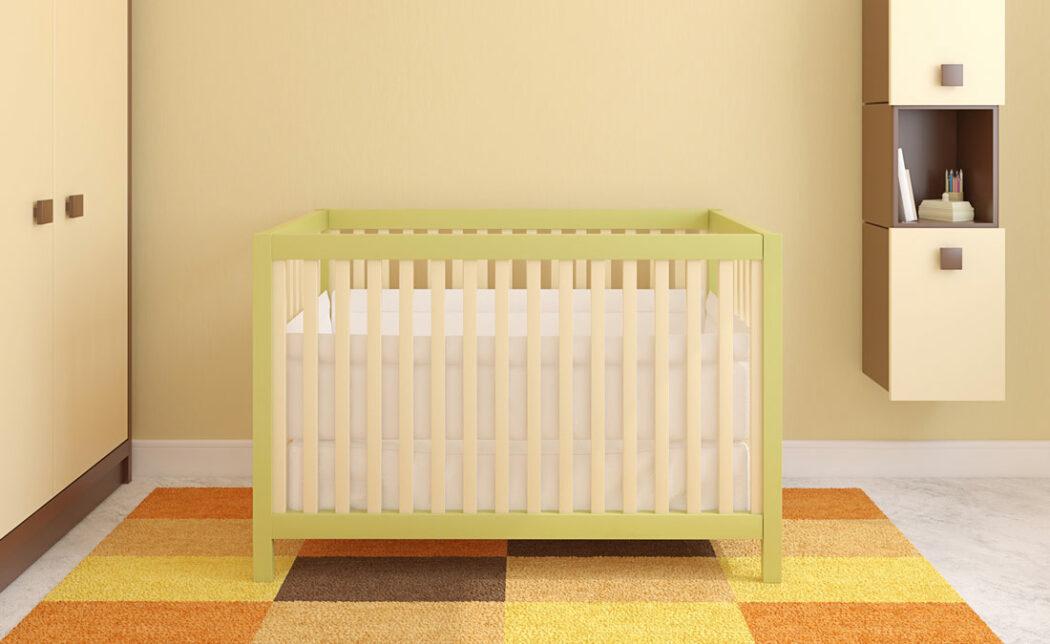 Babybett einrichten
