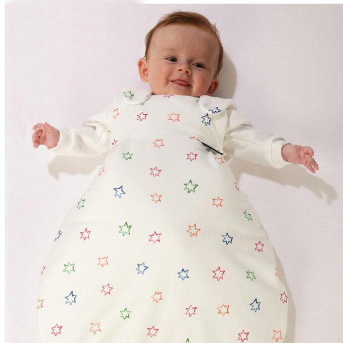 Schlafsack für sicheren Babyschlaf