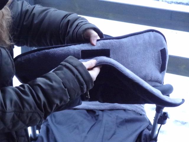 Diago Thermo-Handmuff Klettverschluss