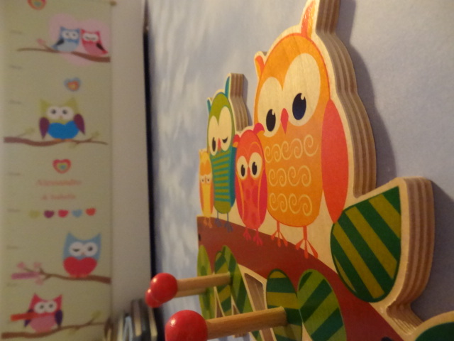 Produkttest Hess Holz Garderobe Eulen Babyartikelde Magazin