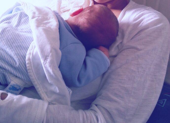 Angst der ersten Tage mit Baby