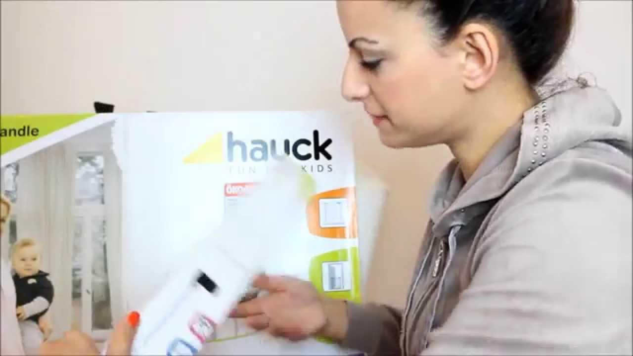 test hauck squeeze handle safety gate t r und treppenschutzgitter magazin. Black Bedroom Furniture Sets. Home Design Ideas