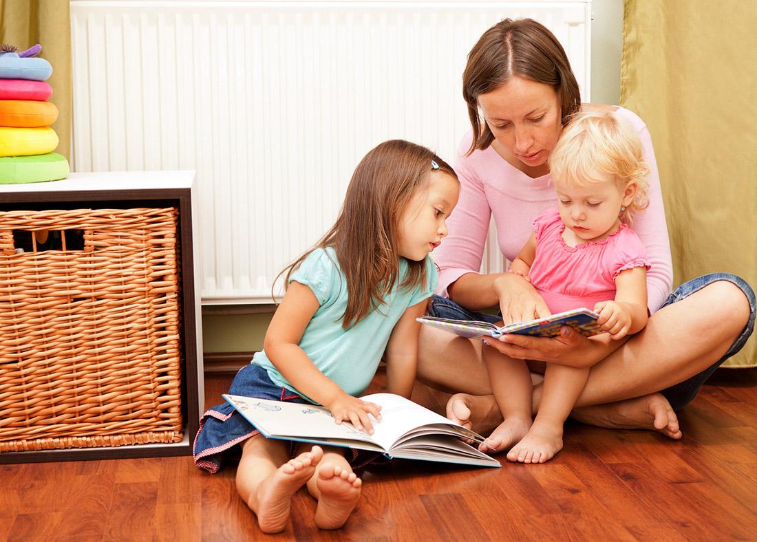 Kinder Bücher vorlesen