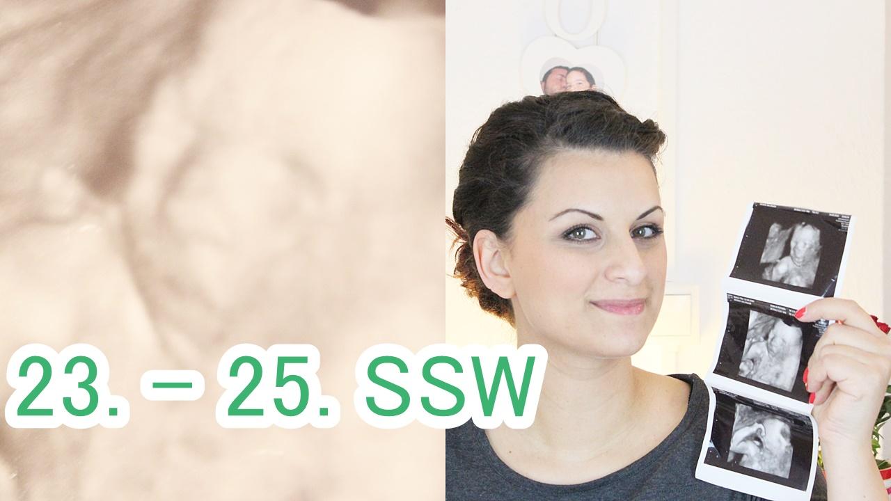23.-25. SSW: Nestbautrieb und Zuckertest beim Frauenarzt