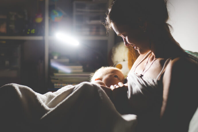Tipps angenehmere Nächte mit Stillkind