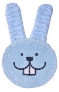 mam-mundpflege-fingerling-oral-care-rabbit-blau baby zahnen erleichtern