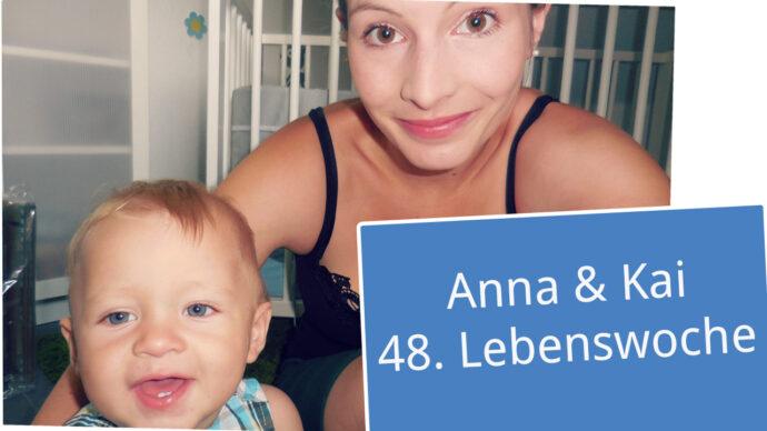 Anna und Kai 48. Lebenswoche neu