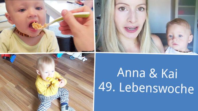 Anna und Kai 49. Lebenswoche