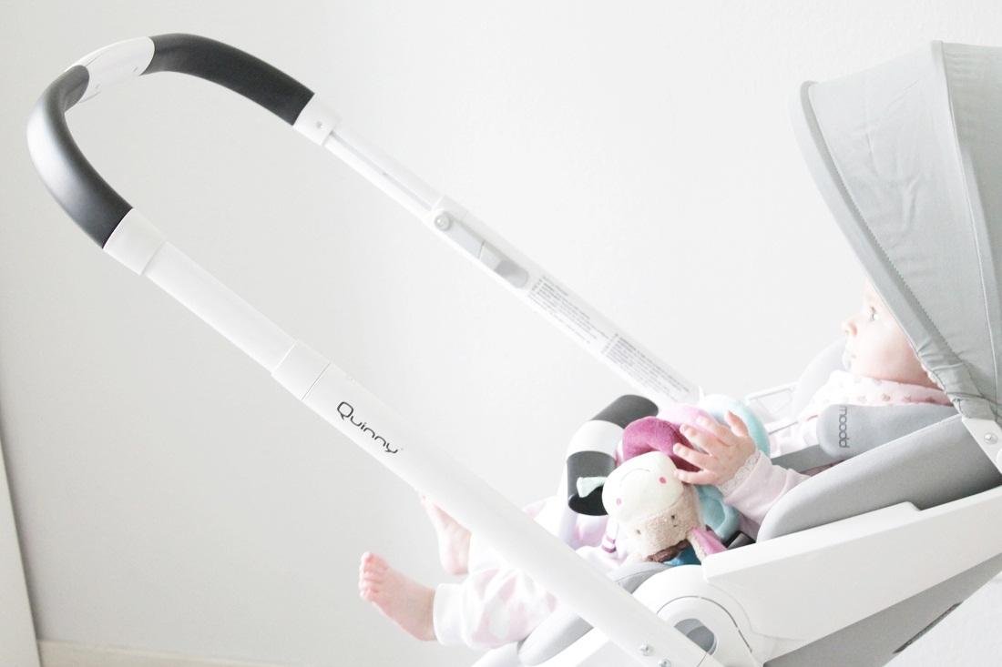 Quinny Moodd Kinderwagen im Test mit Baby Amelie