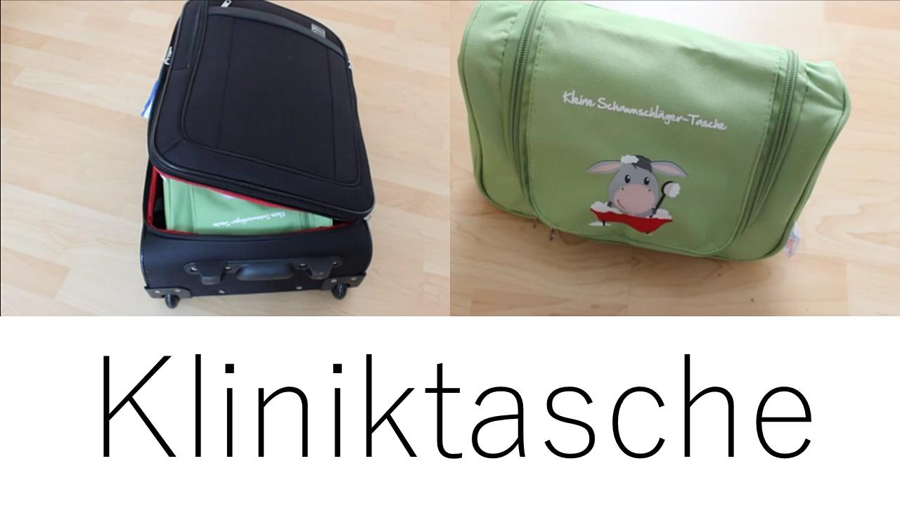 SSW-Update: Ich packe meine Kliniktasche für die Geburt und nehme mit…