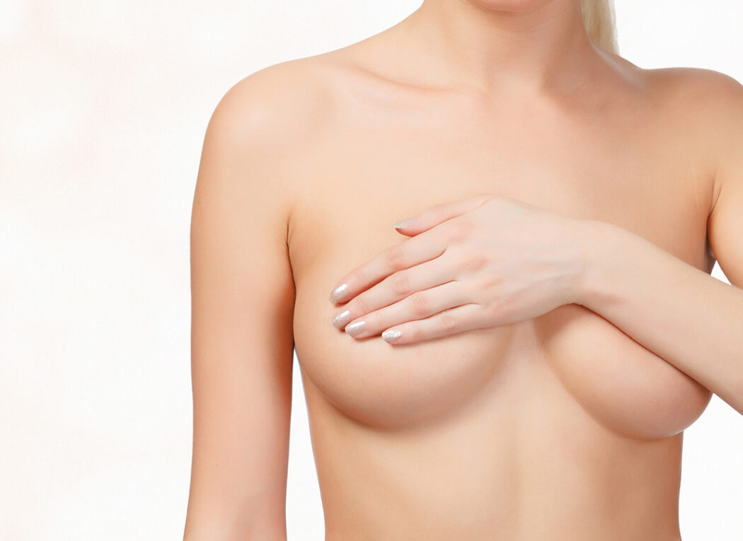 flache Brustwarzen