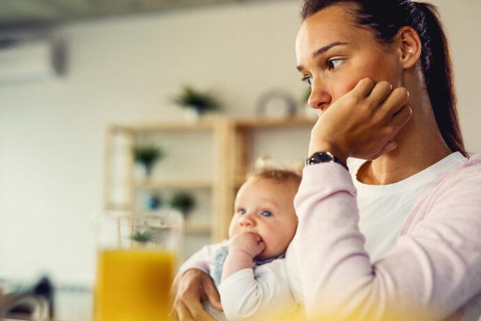 Womit Mütter zu kämpfen haben