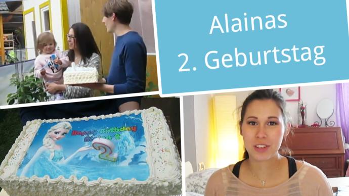 2. geburtstag Alaina