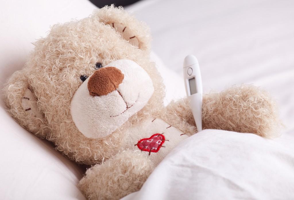 Fieber messen Teddy