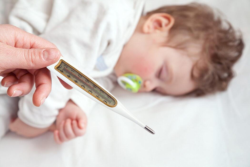 Fiebermessen Baby