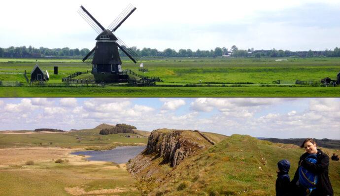 Erster Urlaub zu viert - Holland, England