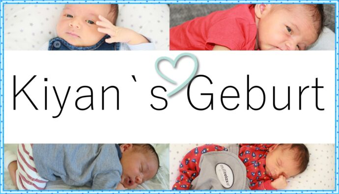 Geburtsbericht Baby Kiyan