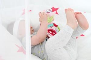 Amelie mit Soft Bilderbuch Baby Fehn