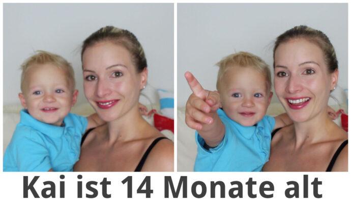Kai ist 14 Monat alt