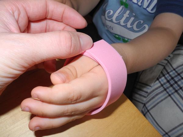 Armband basteln abmessen