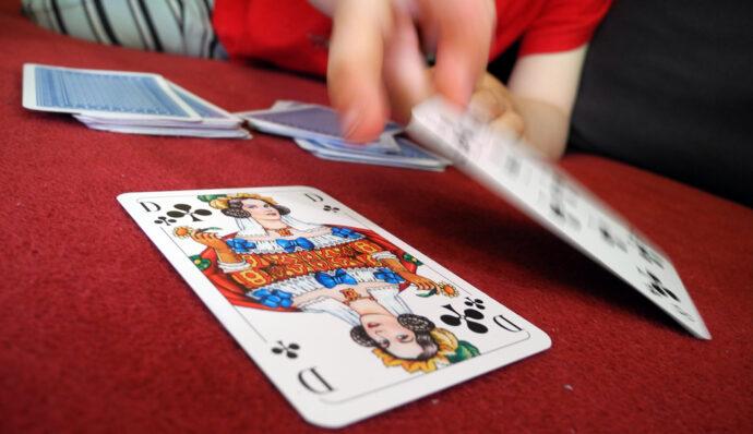 Kartenspiel: Ritter und Barbar