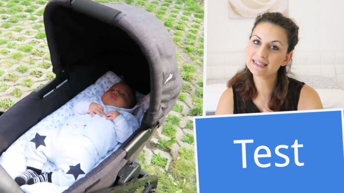 test Filiz joie babywanne chrome dlx