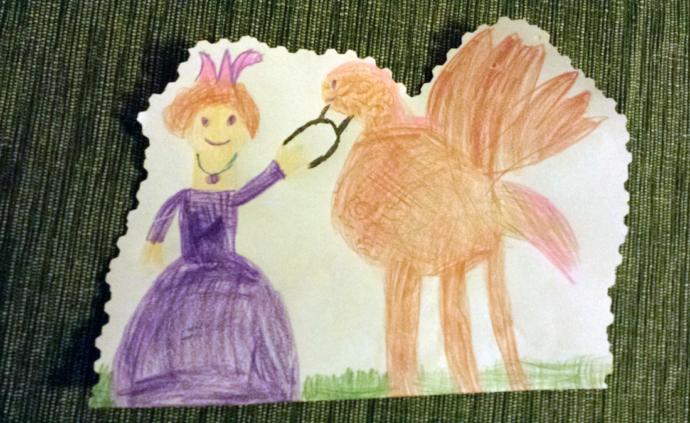 Kinderkunstwerk