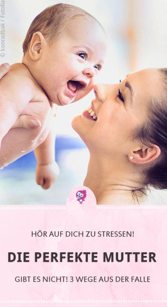 Die perfekte Mutter - Stressfalle - Warum es wichtiger ist, seine Ansprüche herunterschrauben und für sein Kind da zu sein #mutter #baby #perfekt