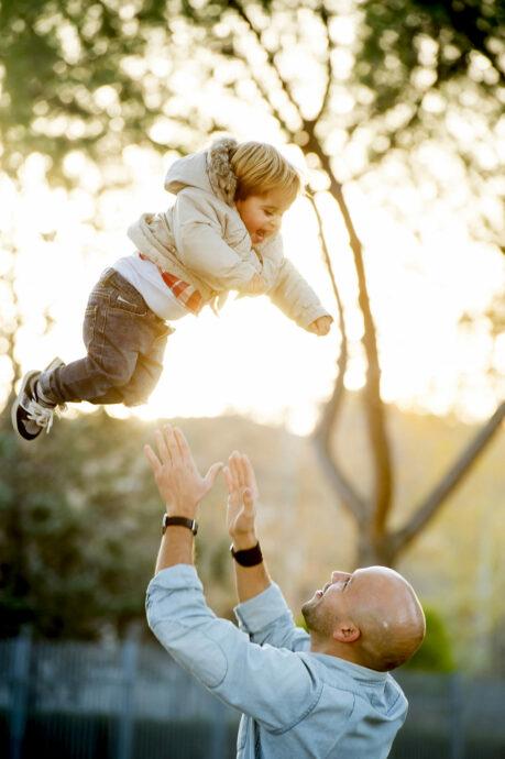 Toben und Ausruhen Was Kleinkinder brauchen