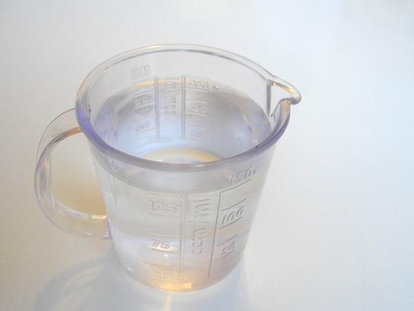 Dinkelbrot - Wasser