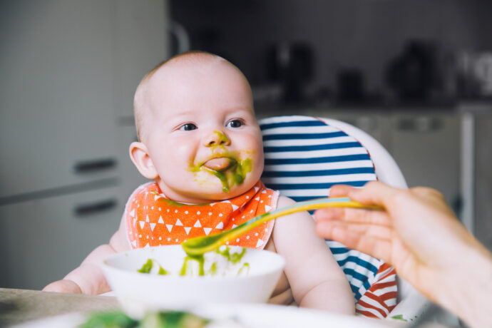 Babybrei breifrei Warum wir unserem Baby keine Brei geben