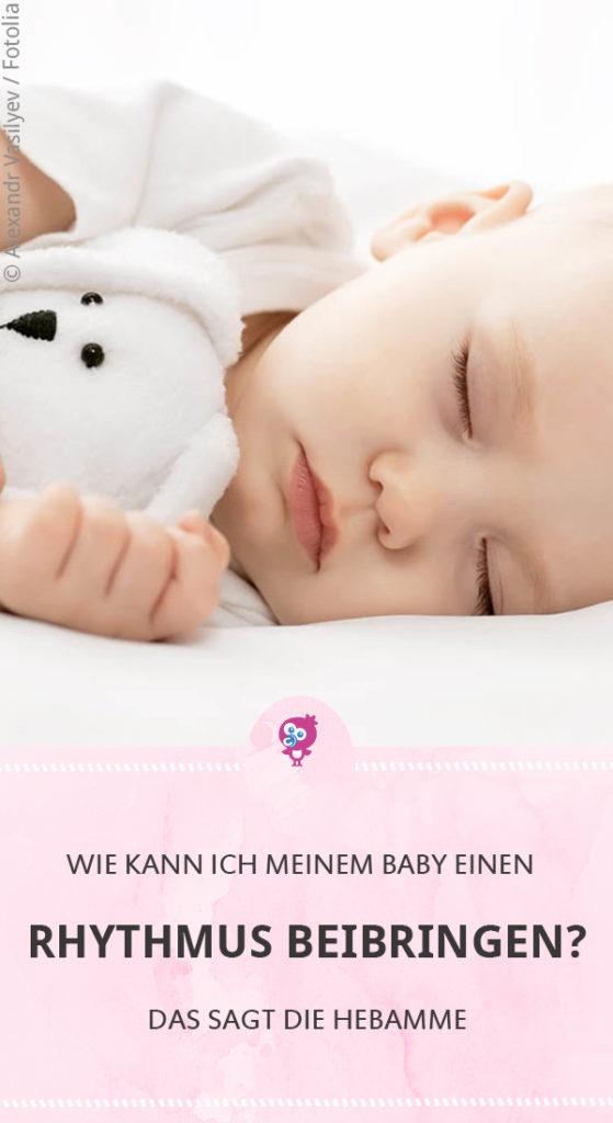 Baby Rhythmus beibringen - ob das überhaupt geht, sagt Dir unsere Hebamme #baby #schlafen