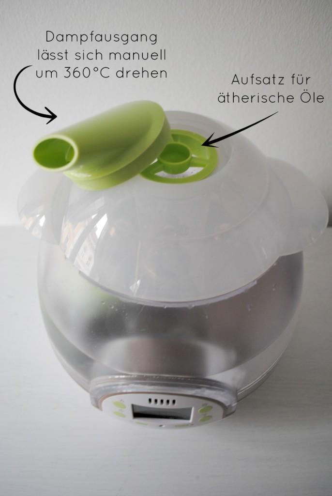 Babymoov Luftbefeuchter mit Kaltdampf