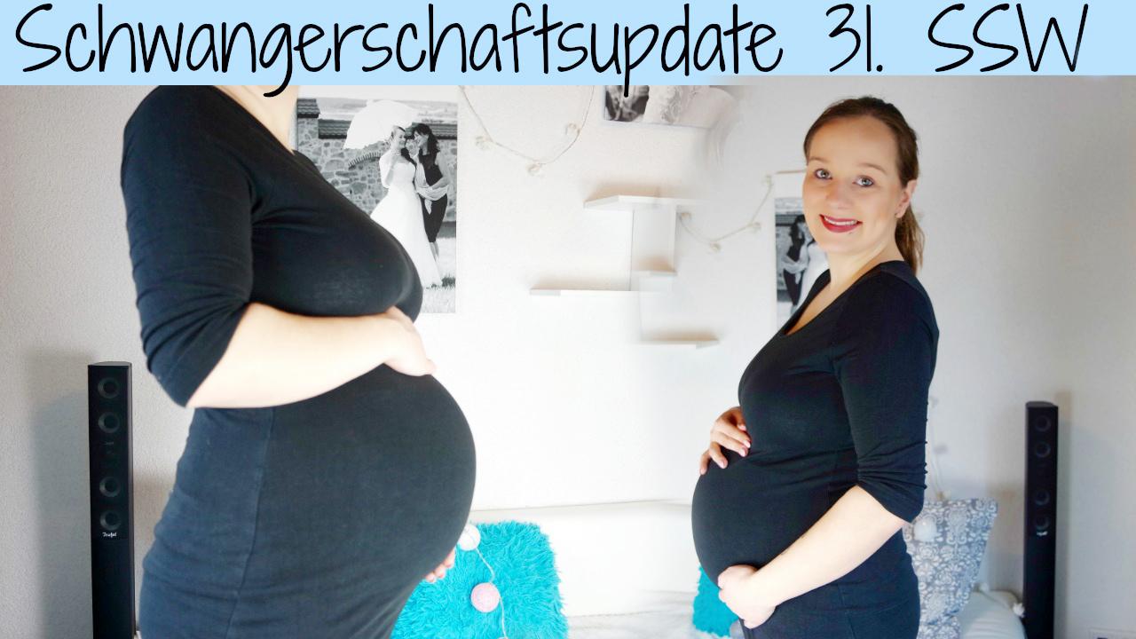 Schwangerschafts-Update 31. SSW | Symphysenlockerung? Kaiserschnitt?