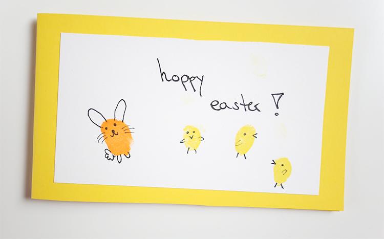 Hoppy_Easter_Selfmade_Osterkarte_DIY_Fingerprint_Bunny_Easter_Card_Frohe_Ostern_Happy_Easter