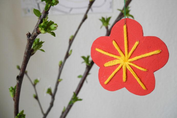 Basteltipp: Blumen für den Osterstrauch