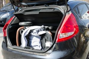 ABC Design Avito im Kleinwagen Kofferraum
