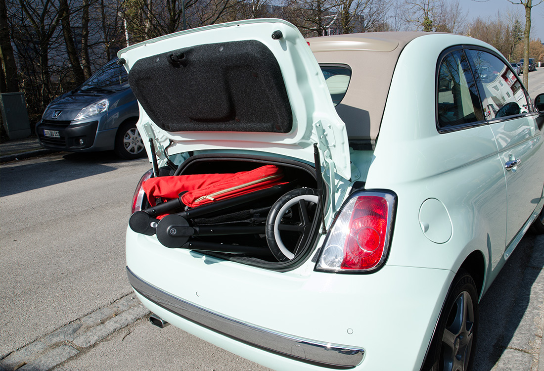 Kofferraum Test Balios M Fiat 500 Babyartikel De Magazin