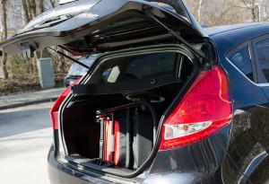 Kofferraum-Test Balios M Ford Fiesta