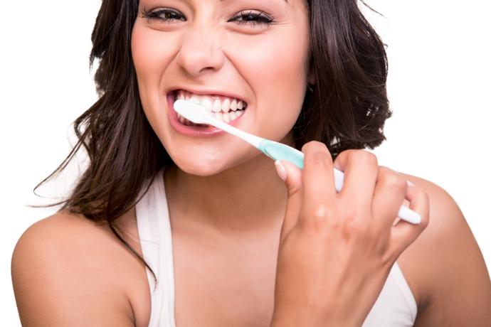 Rückbildung beim Zähneputzen