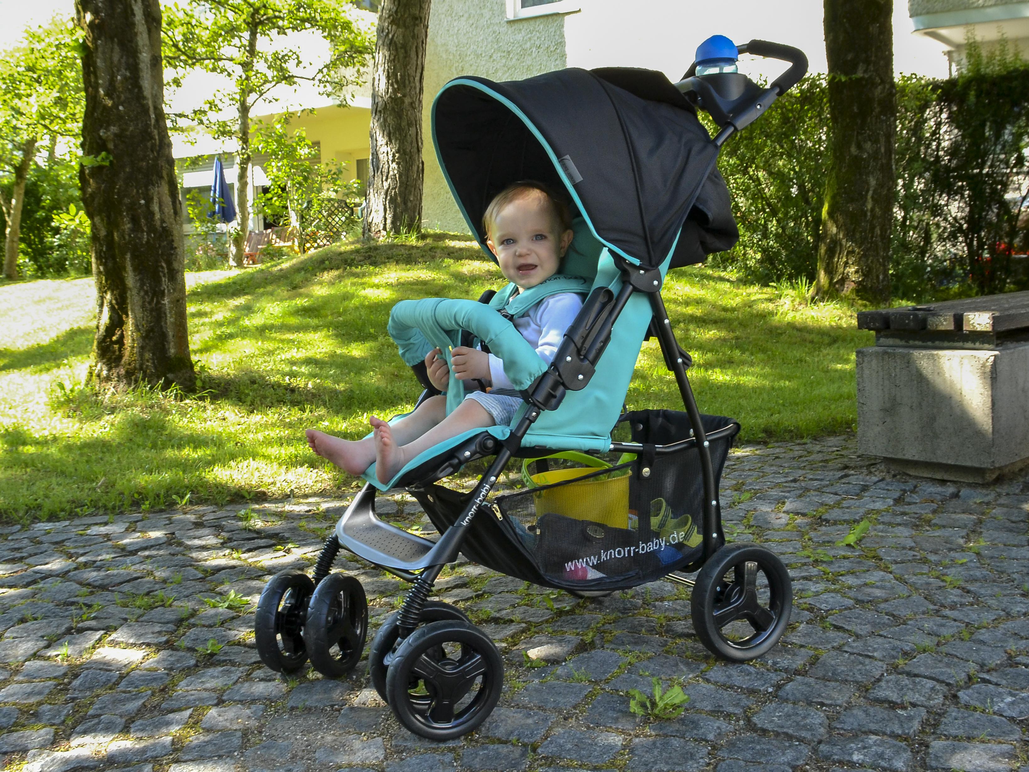 Der Vero XL konnte unser Testkind Luis überzeugen, der Kleine wollte gar nicht mehr aus dem Buggy.