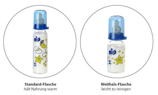 Formen von Babyflaschen