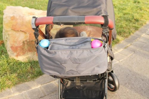 Test: Lässig Buggy-Organizer - Star Ebony 1