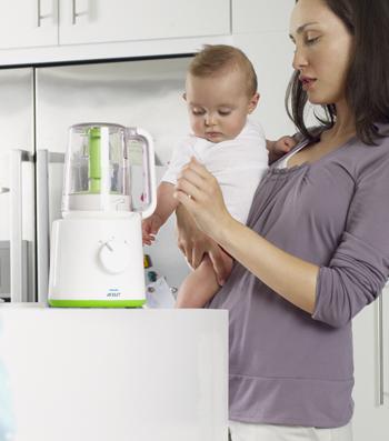 Garer und Mixer für Babynahrung